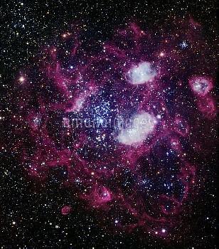 Nebula NGC 1760, optical image