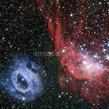 Nebulae NGC 2020 and NGC 2014