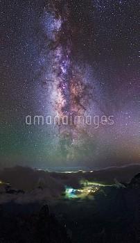 Milky Way over La Palma