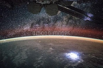 Earth at night, ISS image