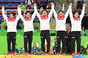 Olympics: Gymnastics - Artistic-Men's Team-Final