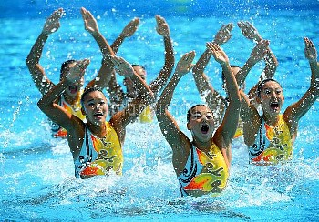 Olympics: Synchronised Swimming-Women's Team-Team Free Routine