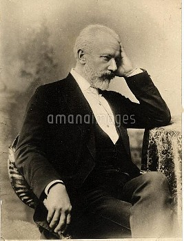 TCHAIKOVSKY  Pyotr Ilyich Tchaikovsky  7 May 1840 – 6 November 1893  Russian composer of the Romanti