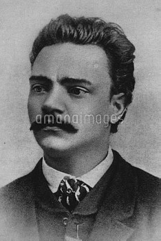 Antonin Leopold Dvorak  8 September 1841 – 1 May 1904  Czech composer circa 1868  Credit: Peter Josl