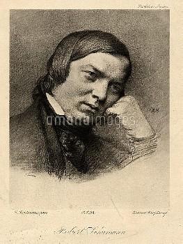 ROBERT SCHUMANN  Robert Alexander Schumann  8 June 1810 – 29 July 1856)  German composer and music c