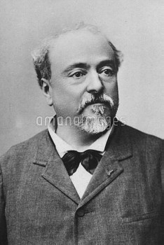 Emmanuel Chabrier  Alexis 18 January 1841 – 13 September 1894 French Romantic composer Credit: Peter