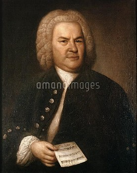 Johann Sebastian Bach (1685-1750), German composer and organist, 1746. Considered by many to be the