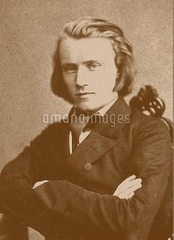 Johannes Brahms (1833-1897).