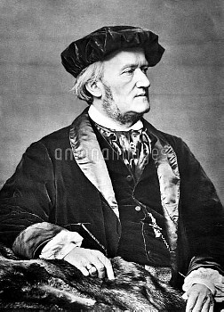 WILLHELM RICHARD WAGNER; 1813 - 1883) German composer , conductor , theatre director; Credit ; Mande