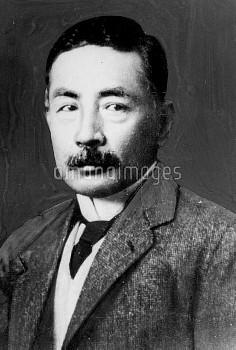 Soseki Natsume (1867-1916), Japanese novelist.