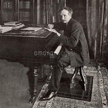 Richard (Georg) Strauss (1864-1949) German composer and conductor