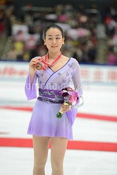 フィギュアスケート グランプリシリーズ NHK杯 2015 フリー浅田真央は3位