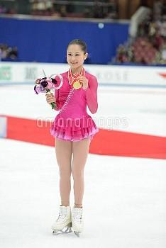 フィギュアスケート グランプリシリーズ NHK杯 2015 宮原知子が初優勝