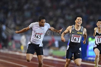第100回陸上日本選手権 男子100メートル
