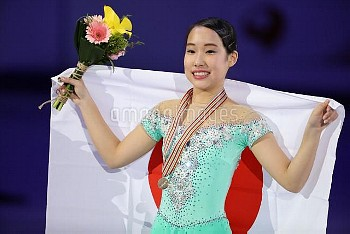 MAI MIHARA LADIES FREE ISU Four Continents Figure Skating Championships in Gangneung, South Korea Fr