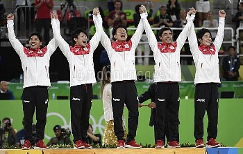 Men's Gymnastics Team Finals of the 2016 Rio Summer Olympics