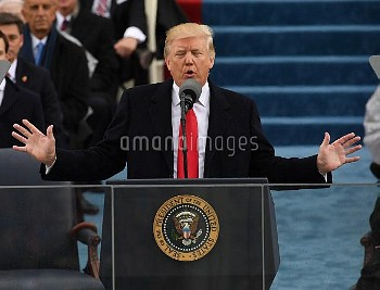 President Trump delivers Inauguration address in Washington, D. C.