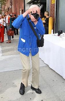 Mercedes-Benz New York Fashion Week Spring 2015 - Thakoon Panichgul - Arrivals  Featuring: Bill Cunn