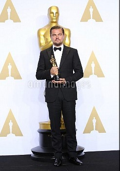 The 88th Oscars live from the Dolby Theatre - Press Room  Featuring: Leonardo DiCaprio Where: Los An