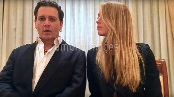 Following her charge, Amber Heard and Johnny Depp have issued a video apology for providing false do