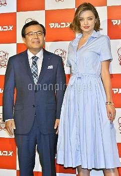 Miranda Kerr attends the event for Japanese fermented foods company Marukome Co. Ltd. at Shangri-La