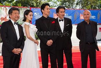 74th Venice Film Festival - 'The Third Murder' - Premiere  Featuring: Suzu Hirose, Masaharu Fukuyama