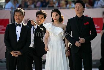 74th Venice Film Festival - 'The Third Murder' - Premiere  Featuring: Hirokazu Koreeda, Suzu Hirose,