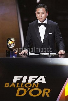**SWITZERLAND-ZURICH-FIFA-BALLON D'OR GALA-NARIO SASAKI