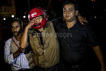 Gunmen Take Hostages In Dhaka