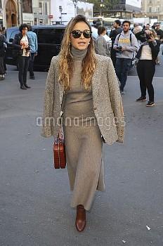 CELEBRITES : Defile pret a porter Stella McCartney - Paris - 03/10/2016