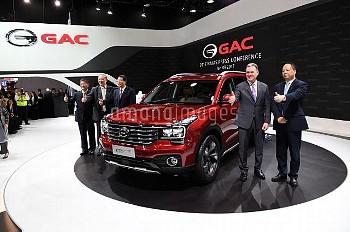 DETROIT, Jan. 9, 2017 China's Guangzhou Automobile Group Motor (GAC Motor) makes debut of Trumpchi S