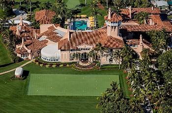 フロリダ州パームビーチにあるトランプ大統領の別荘 February 1, 2017 - Palm Beach, Florida, U.S. - Mar-a-Lago will become the '