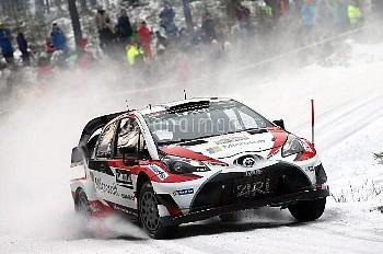 18年ぶりに復帰のトヨタが世界ラリー選手権(WRC)第2戦ラリー・スウェーデンで優勝 AUTOMOBILE : Rallye de Suede - WRC - 11/02/2017