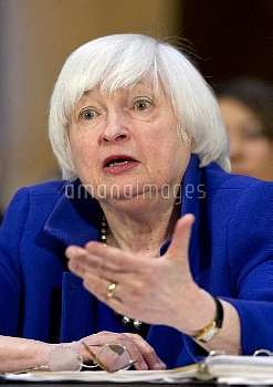 """ジャネット・イエレン(Janet Yellen)=米連邦準備制度理事会(FRB)議長 Yellen Testifies on """"The Semiannual Monetary Policy Repor"""