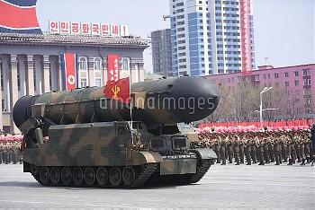 北朝鮮の軍事パレード North Korea's Kim Il Sung 105th Birth Anniversary