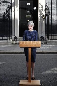 Theresa May statement at 10 Downing Street