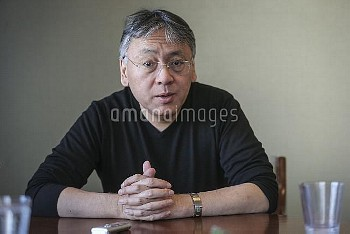 Author of The Buried Giant Kazuo Ishiguro for interview at Random House. They made cookies with the