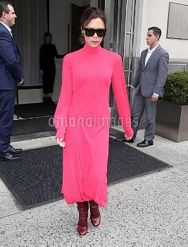 Victoria Beckham is seen in New York City