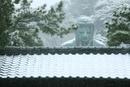 雪の日の鎌倉の大仏