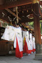 今宮祭 今宮神社にて八乙女踊り奉納