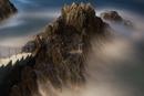 Rocky coast at Manarola, Cinque Terre National Park, Unesco World Heritage, Italian Riviera, Liguria, Italy