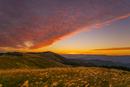 朝の生石高原
