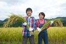 農業体験をする子供
