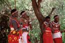 サニブル族の少女      ケニア