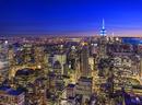 エンパイア・ステート・ビルとマンハッタン