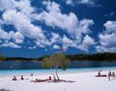 マッケンジー湖の風景 オーストラリア