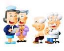 おじいちゃんの健康診断と看護婦さん