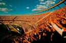 スタジアムの観客 ブエノスアイレス