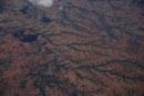 森林伐採後の中央高地