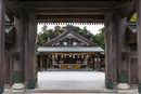 宗像大社 辺津宮の拝殿